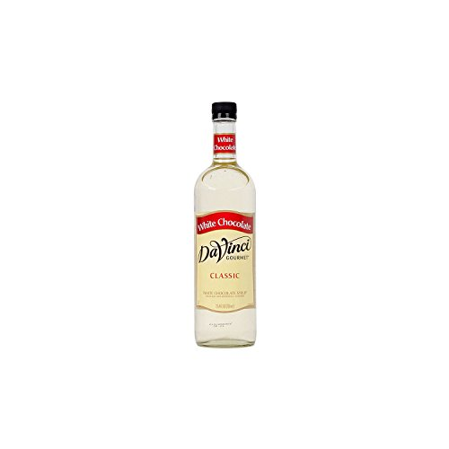 - DaVinci Gourmet Classic Flavored Syrups White Chocolate 750 mL