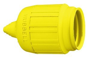 Short Yellow Weatherproof Boot for 4- & 5-Wire Insulgrip Devices