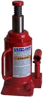 product image for US Jack , Short/Low Profile Hydraulic Bottle/ Hand Jack-12 Ton- D - 51125-5