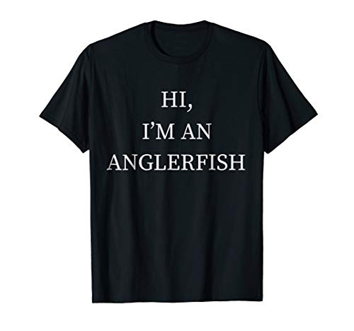 I'm a Anglerfish Halloween Costume Shirt Fish Last Minute for $<!--$16.99-->