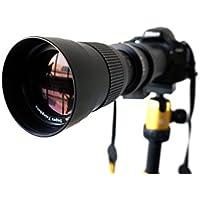 Lightdow 420-800mm F/8.3-16 Super Telephoto Manual Zoom Lens + T-Mount for Nikon DSLR