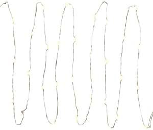 Everlasting Glow Micro LED Light String, 30 Warm White Light, Electric, Timer