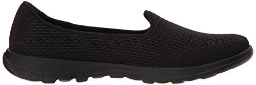 Lite Skechers Baskets black Walk Femme Go Noir 8044SRqpw