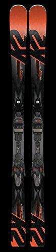 Tip Twin Skis Around (2018 Ikonic 84 163cm Skis w/ M3 12 TCX LT Bindings)