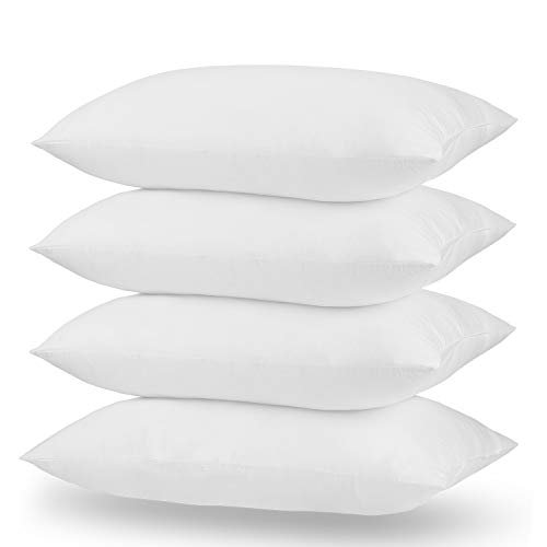 Acanva Bed Pillow Inserts Hotel Quality Extra-Soft Hypoallergenic Rest Cushion Stuffer for Side and Back Sleepers, Standard 20