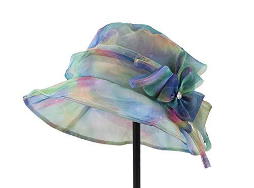 Un Sombreros Borde De Tamaño Señoras Oudan La Color Impresos Ancho Moda Azul Del Tamaño Finos color Las Verano Sombrero Sol g8gtTWwqz