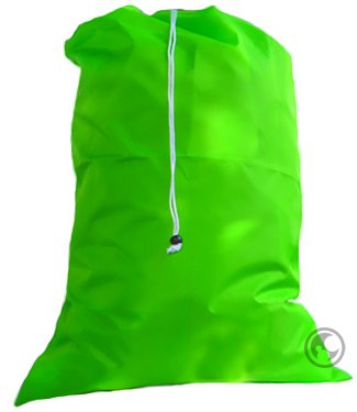 Extra Large Jumbo Laundry Bag with Drawstring, Color: Lime Green,Size: 30x45 by Laundry Bag Store Online (Image #2)