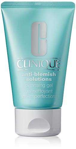 (Clinique Anti-Blemish Solutions Cleansing Gel 125ml/4.2Ounce - All Skin Types, 1 Ounce)