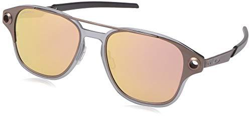 Oakley Men's OO6042 Coldfuse Square Titamium Sunglasses, Satin Toast/Prizm Rose Gold, 52 ()