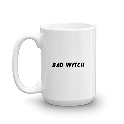 Bad Witch Good Witch Best Friend Halloween Party Duo Couple Funny Gifts Coffee -
