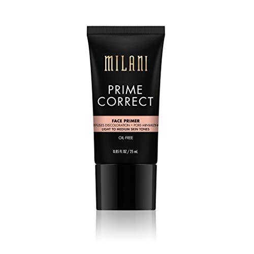 (Milani Prime Correct Diffuses Discoloration + Pore-Minimizing Face Primer - Light/Medium)
