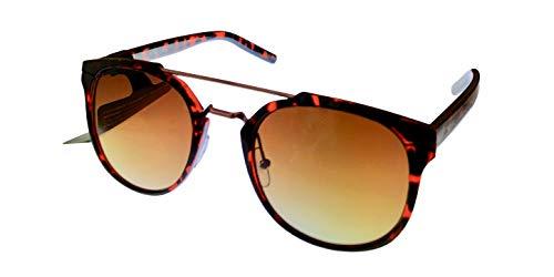 Lucky Mntator52 Round Sunglasses, TORTOISE, 52 ()
