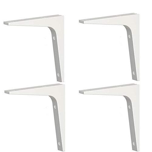 Ikea Shelf Bracket Ekby Stodis (4 Pack) White 6.75 X 6.75