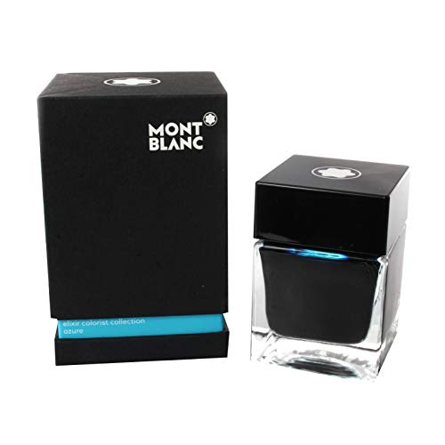 Montblanc Elixir Colorist Collection, Azure, Fountain Pen Ink Bottle 50 ml by MONTBLANC (Image #1)
