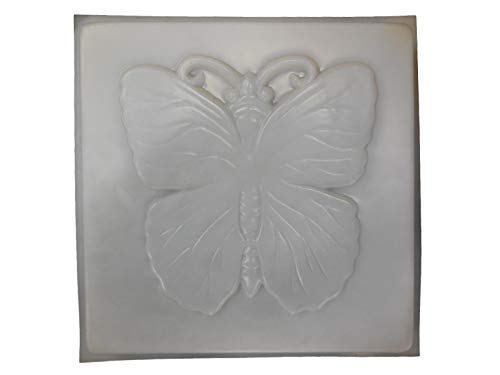 Cheap Square Butterfly 14in Stepping Stone Concrete or Plaster Mold 1132