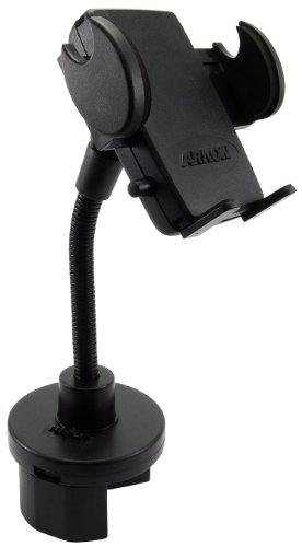 Arkon Drink Cup Holder Car Phone Holder Mount for iPhone 7 6