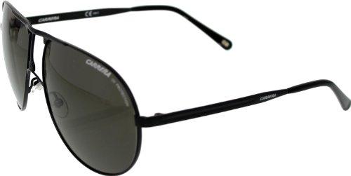 Carrera Carrera PDE NR Matte Black Carrera 1 Aviator Sunglasses Lens Category - Sunglasses Nr
