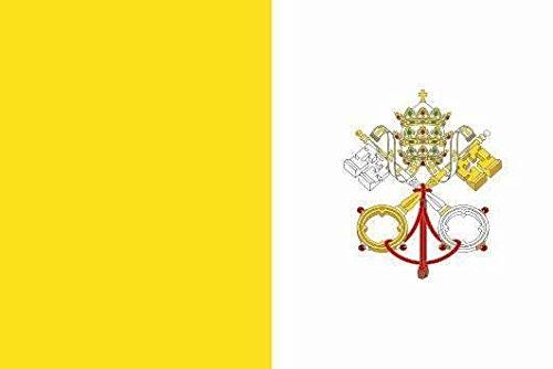 U24Bandiera Bandiera del Vaticano Boot Bandiera qualità premium 20x 30cm