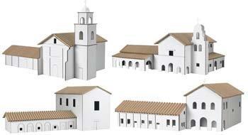 Hobbico Kit 6: Santa Cruz/San Juan Bautista/San Luis Obispo HCAY9066 Hobbico Kit