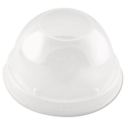 DCC16LCDH - Cappuccino Dome Sipper Lids, Clear