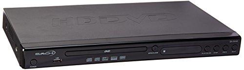 - Saachi SA-5440 All Multi Region Free DVD Player HD 1080p Up-Conversion Plays PAL/NTSC Regions 0-9, USB, DIVX, XVID, AVI, HDMI Cable, Black