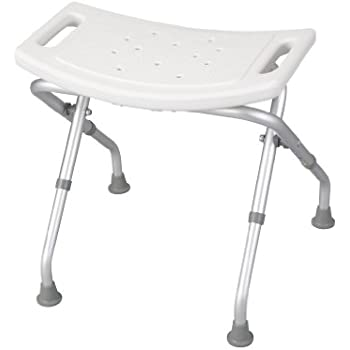 Amazon Com Drive Medical Deluxe Folding Bath Bench White