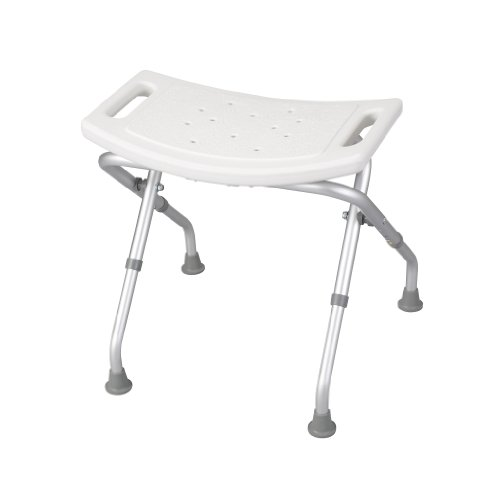 Folding Bath Seat (Drive Medical Deluxe Folding Bath Bench, White)