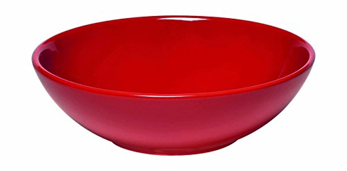 "Emile Henry 342122 Made In France Salad Bowl, 9"", Burgundy Red"
