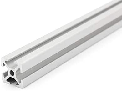 Profilo in alluminio scanalatura 5 taglio 50-2000/mm 20/x 60,/tipo I