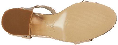 Blink 802558-G, Sandalias Con Cuña Mujer Dorado (Rosegold)