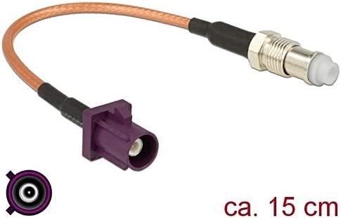DeLOCK 89675 - Cable coaxial (0,15 m, FAKRA D, FME, RG-316 ...