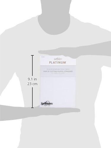Spellbinders PL-101 Platinum Cutting Decorative Plates Standard