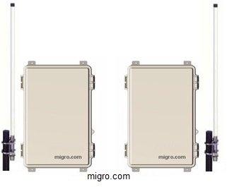ワイヤレス2チャンネルデジタルコントロール3 KM送信機と受信機in NEMA 4エンクロージャ、934007 B00FOFNBWA