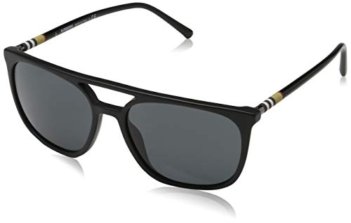 Burberry Men's 0BE4257 Matte Black/Grey One Size (Burberry Farbe)