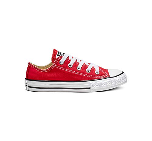 George Ring St - Converse Chuck Taylor All Star Canvas Low Top Sneaker, Red, 11 M US Little Kid
