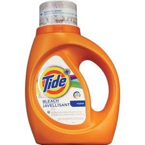 Tide Plus Bleach Alternative Liquid Laundry Detergent, Original Scent, HE Turbo Clean, 37 oz, 19 loads - Bleach Liquid Laundry Detergent
