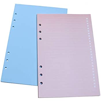 Amazon.com : A6 6-Ring Binder Planner Refills Inserts Loose ...