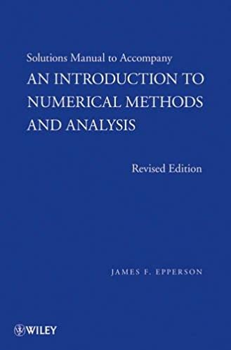 numerical methods engineers 6th edition solution manual ebook