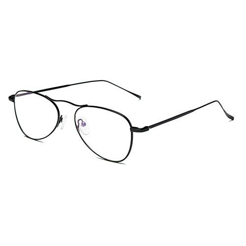 Clear Cadre Light jeux Lunettes Noir Lens Anti Métal tv Ordinateur Reading Pc Hommes cell Eyeglasses Femme En Bleu Pour Juleya Aviator Phone wIvqzg