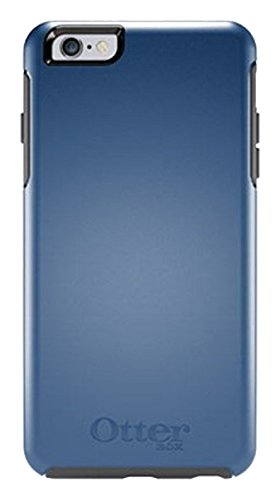 reputable site 69bb5 23740 OtterBox Symmetry Cell Phone Case for iPhone 6 Plus - Frustration Free  Packaging - Blue Print II