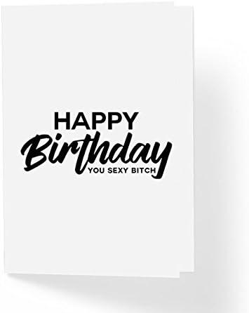 Naughty Adult Humor Funny Birthday Card Happy Birthday You Sexy