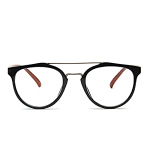 TIJN Crossbar Prescription Frames Spectacles Eye Glasses Daily Look