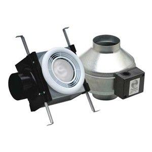 Fantech Pb110f Series Flourescent Grille Lamp Width 13 Height 15 Depth 19 Usa Inline Bath