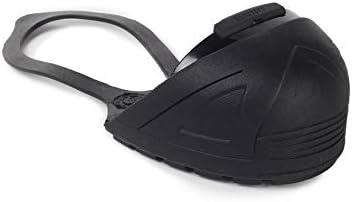 Black Steel Toe Cap Safety Overshoe
