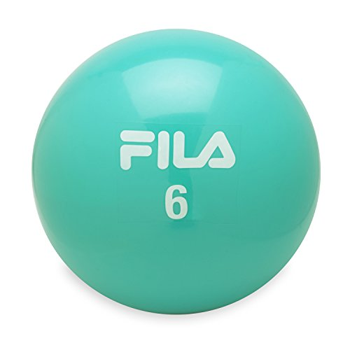 FILA Accessories Weighted Toning Soft Medicine Ball, 6lb
