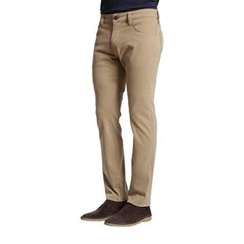 34 Heritage Mens Charisma Classic Fit Khaki Twill Trouser Pants, 42W x ()