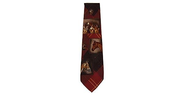 Ralph Lauren Polo Equestrain Horse - Corbata de seda para hombre ...