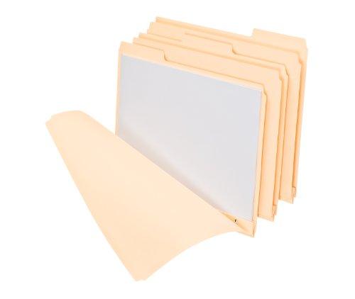 Pendaflex File Folder With 3 Fasteners, Letter Size, Manila, 50 per Box (15600)