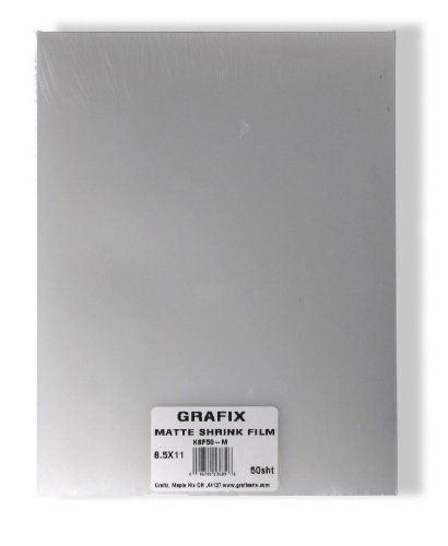 Grafix Shrink Film, 8-1/2