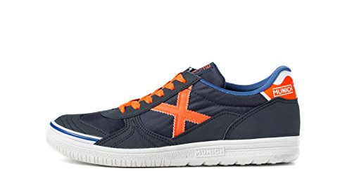 Marine Mixte Munich Adulte Futsal G3 Orange Bleu n4qqXS8